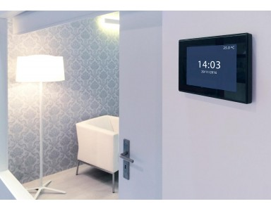 Applications for a KNX Zennio Z41 Pro touch panel