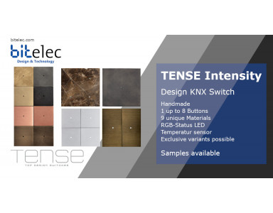 KNX Design Switches Tense Intensity