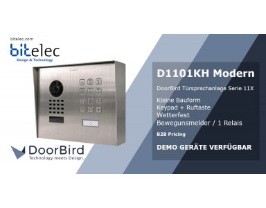 DoorBird D1101KH - IP Video Interphone